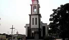 Aurilândia - Igreja Matriz de Aurilândia-GO-Foto:João Santos