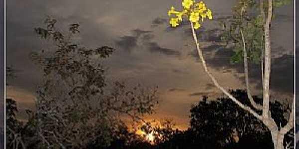 Auriverde-GO-Lindo pôr do sol-Foto:Rildo Cunha