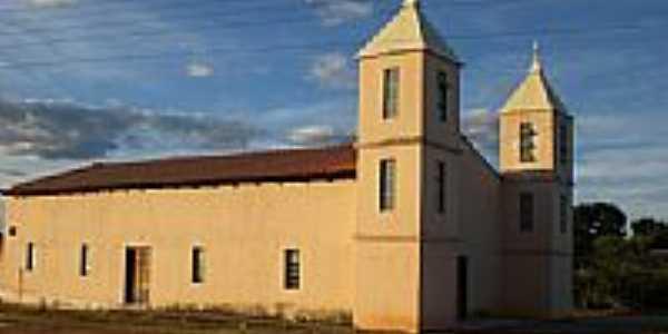 Igreja em Barbosilândia, por Robsonrgs.