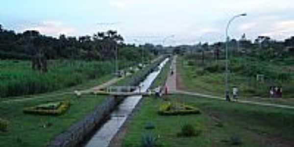 Bela Vista de Goiás-GO-Passarela no Córrego Susuapara-Foto:belavistanet
