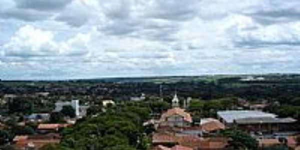 Bela Vista de Goiás-GO-Vista parcial da cidade-Foto:belavistanet