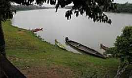 Boca do Acre - Bela paisagem do Rio Purus em Boca do Acre-AM-Foto:olintocristo