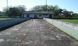Boca do Acre - Boca do Acre-AM-Entrada do Aeroporto-Foto:Marcelo Imoto