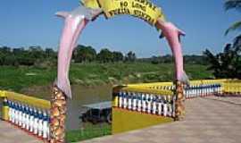 Boca do Acre - Orla do Rio Purus na cidade de Boca do Acre-AM-Foto:Marcelo Imoto