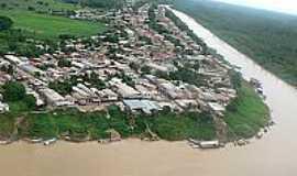 Boca do Acre - Vista aérea (centro) por Reyson Silva