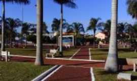 Bom Jesus de Goiás - praça central da cidade de Bom Jesus, Por adriana queli