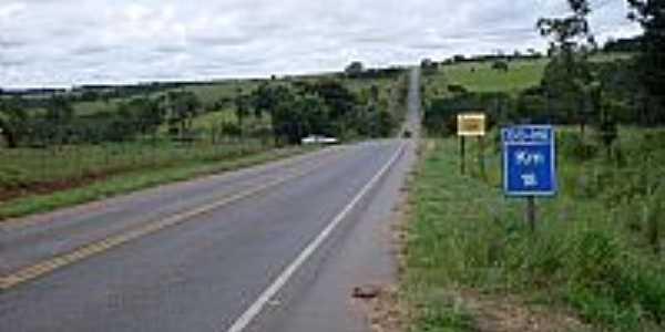 rodovia que liga Bonfinopolis a Goiania