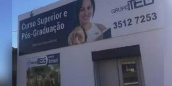 ITEG a primeira faculdade de Bonfinopolis Goiás, Por Lucas Diego