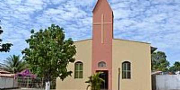 Buriti de Goiás-GO-Igreja-Foto:Arolldo Costa Olivei…