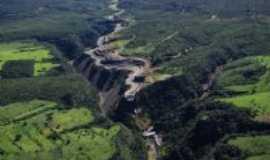 Buritinópolis - VISTA AÉREA DO CANAL DE UMA  DAS 3 USINAS HIDRELETRICAS DO MUNICIPIO DE BURITINÓPOLIS-GO 6, Por LUCIAN HERLAN PEREIRA DE SOUSA