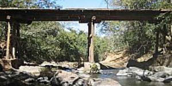 Ponte sobre o Ribeirão