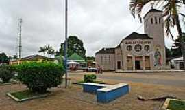 Tarauacá - Tarauacá-AC-Praça e Igreja de São José-Foto:Jezaflu Jesus