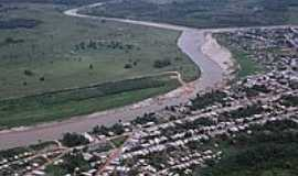Tarauacá - Vista aérea da cidade de Tarauacá-Foto:JEZAFLU=ACRE=BRASIL