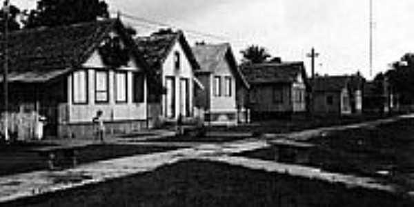 Centro de Tarauacá em 1911-Foto:JEZAFLU=ACRE=BRASIL