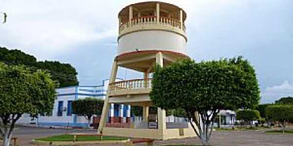 Borba-AM-Caixa D´Água no centro-Foto:Joao Altecir Nepomuceno