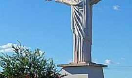 Cachoeira Dourada - Cristo, por Fernando N Branco.