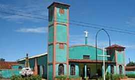 Cachoeira Dourada - Igreja de N.Sra.Aparecida em Cachoeira Dourada-GO-Foto:olintocristo