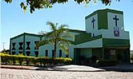 Caçu - Matriz do Sagrado Coração de Jesus em Caçu-Foto:olintocristo