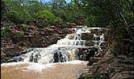 Caiap�nia - Caiap�nia-GO-Cachoeira da Jalapa-Foto:Gil Roberto