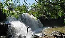 Caiapônia - Caiapônia-GO-Cachoeira da Marfiosa-Foto:Gil Roberto