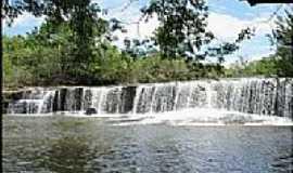 Caiap�nia - Caiap�nia-GO-Cachoeira de Lajeado-Foto:Gil Roberto