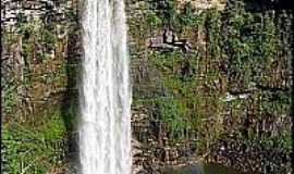 Caiap�nia - Caiap�nia-GO-Cachoeira de S�o Domingos-Foto:Gil Roberto