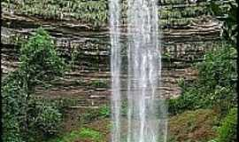 Caiap�nia - Caiap�nia-GO-Cachoeira do Bebedouro-Foto:Gil Roberto