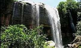 Caiap�nia - Caiap�nia-GO-Cachoeira do Jancand�-Foto:Gil Roberto