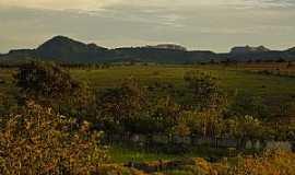 Caiapônia - Caiapônia-GO-Entardecer na Serra-Foto:AFroehlich