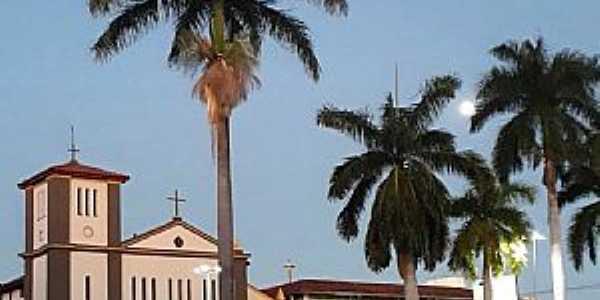 Imagens da cidade de Caldas Novas - GO - Igreja Matriz Nossa Senhora das Dores