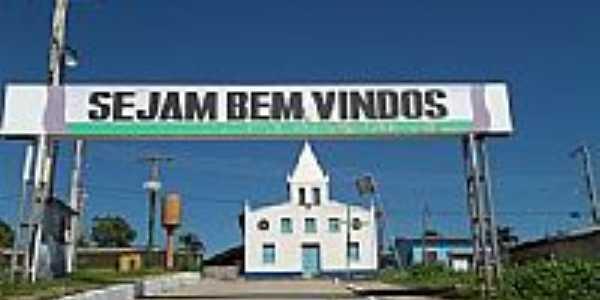 Portal de entrada de Caapiranga-AM-Foto:João Junio Mesquita