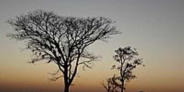 Campestre de Goiás-GO-Anoitecer na zona rural-Foto:Pe. Edinisio Pereira…