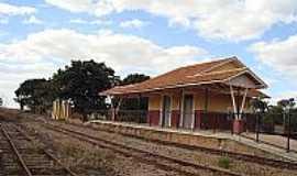 Caraíba - Caraíba-GO-Estação Ferroviária do Povoado em 2006-Foto:Rafael Cintra