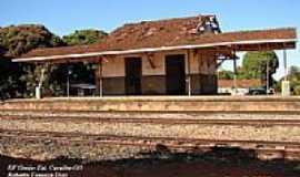 Caraíba - Caraíba-GO-Estação Ferroviária do Povoado em 2006-Foto:Roberto Fonseca Dias.