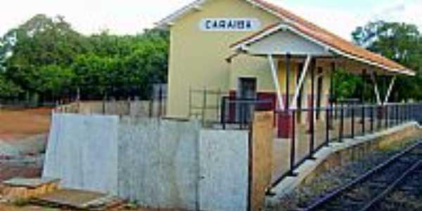 Caraíba-GO-Estação Ferroviária do Povoado-Foto:Glaucio Henrique Cha…