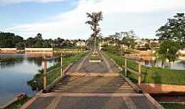 Catal�o - Catal�o-GO-Ponte e Aterro do Parque das Mangueiras-Foto:Pe. Edinisio Pereira�