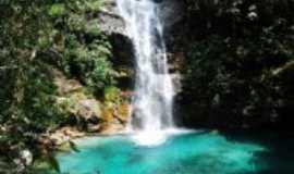 Cavalcante - Cachoeira Santa Barbára, Por Marcello Hohlenwerger