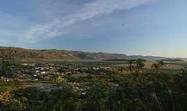 Cavalcante - A cidade vista do Morro Encantado
