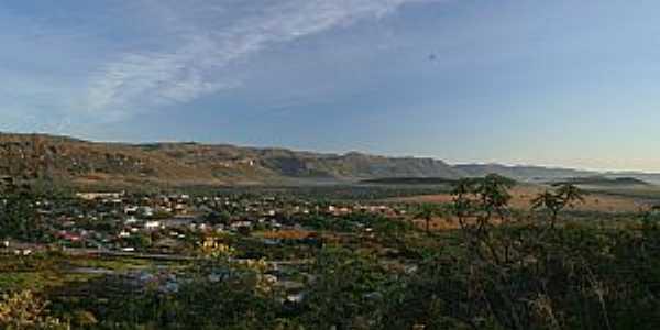 A cidade vista do Morro Encantado