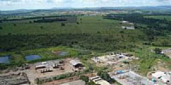 Vista panorâmica de Cezarina-GO-Foto:MANOEL
