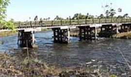 Chapadão do Céu - Ponte sobre o Rio Formoso-Foto:Rafael José Rorato