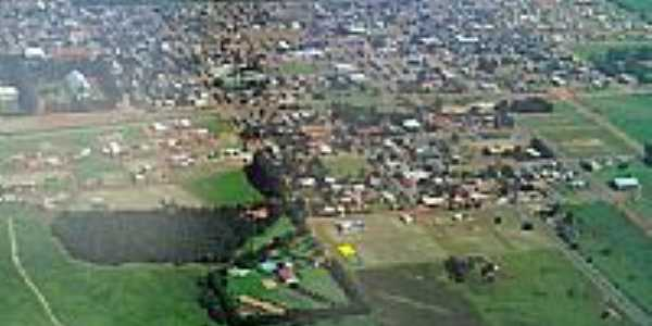 Foto aérea de Chapadão do Céu-Foto:ljzanardi