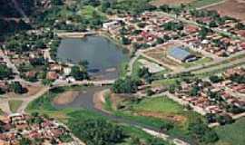 C�rrego do Ouro - Vista a�rea da cidade-Foto:Enaldo dos Santos