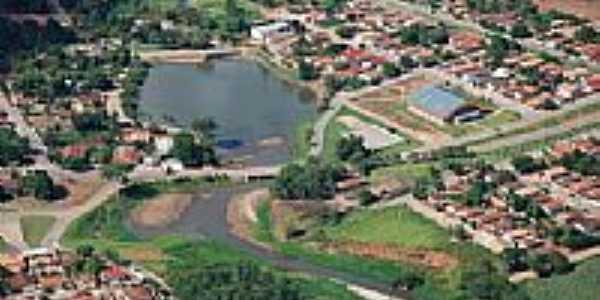 Vista aérea da cidade-Foto:Enaldo dos Santos