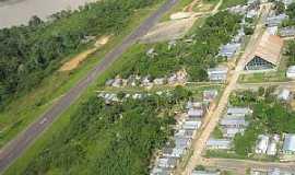Canutama - Canutama-AM-Vista a�rea do Aerodromo-Foto:Fares Nery