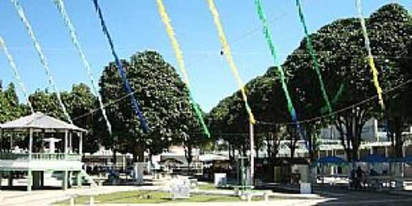 Canutama-AM-Coreto na Praça da Matriz-Foto:Fares Nery