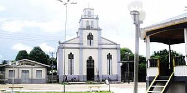 Canutama-AM-Igreja Matriz-Foto:Fares Nery