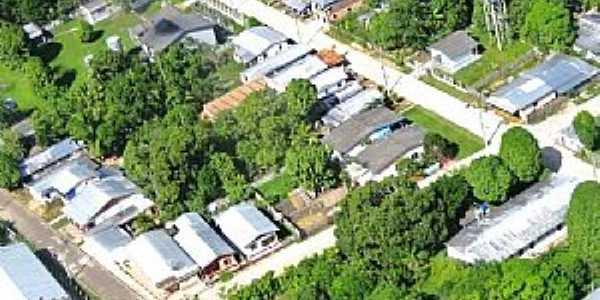 Canutama-AM-Vista aérea da área central-Foto:Fares Nery