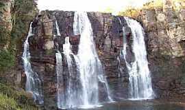 Corumbá de Goiás - Corumbá de Goiás-GO-Cachoeira Salto de Corumbá-Foto:mochileiro.tur.br