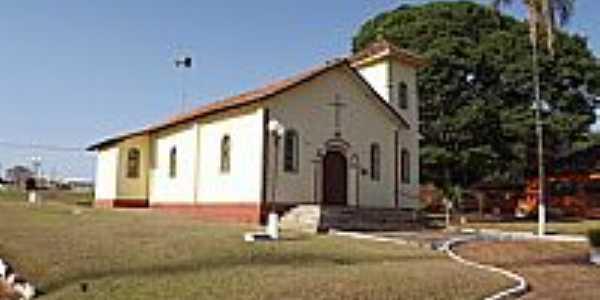 Cristianópolis-GO-Igreja de São Sebastião-Foto:Arolldo Costa Oliveira